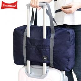 2018 NOWY Składana Torba Podróżna Nylon Torby Podróżne Bagaż podręczny dla Mężczyzn Dla Kobiet Fashion Travel Duffle Torby Dużeg
