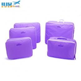 5 Sztuk/zestaw Wysokiej Jakości Oxford Tkaniny Oczek Worka Pakowania Cube Bagażu Organizator Organizator Podróży Torby Podróżne