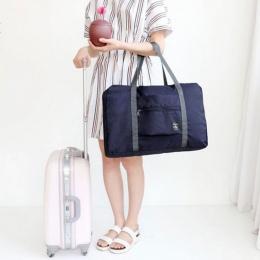2017 4 Kolory Nowy Mody Pokrowiec Podróżny Podróży Torebki Kobiet Torba Podróżna Na Bagaż Składane Torby Darmowa Wysyłka LV11