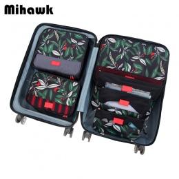 Mihawk 6 sztuk/zestaw Pakowania Cube Torby Podróżne Przenośne Duża Pojemność Odzież Sortowanie Organizator Przechowalnia Akcesor