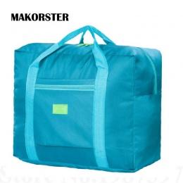 MAKORSTER Podróży Bagażu bagaż Podręczny Teczka torba Składana Torba Big Size Składane Etui wodoodporne Kobiety Torby Podróżne X