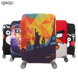 QIAQU Marki Zagęścić Elastyczna Kolor Podróży Bagażu Walizka Ochronna Pokrywa, stosuje się do 18-32 cal Przypadki, podróż Akceso