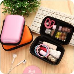 ETya New Portable Travel Elektroniczne Karty SD USB Kabel Słuchawkowy Telefonu Ładowarka Akcesoria Torby dla Danych Telefonu Org
