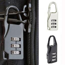 ISKYBOB Mini Kłódka Travel Walizka Bagaż Hasło Blokady Bezpieczeństwa 3 Digit Kombinacja