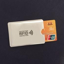 Anti Rfid Portfel Blokowanie Czytnik Blokady Banku Posiadacza Karty Id Karta Bankowa Przypadku Ochrona Metalu Posiadacz Karty Kr