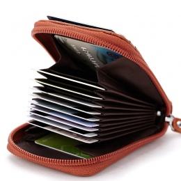 Gorąca Sprzedaż Prawdziwej Skóry Unisex Posiadacz Karty Portfele Wysokiej Jakości Kobiet Posiadaczy Kart Kredytowych Kobiety Pod