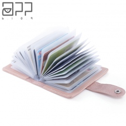 APLIKACJA BLOG 26 Gniazda Kart Kobiety Mężczyźni ID Kredytowej Wizytówki Portfla Paszport Pokrywa Karty Torba Case Femme Carteir
