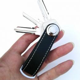 Kreatywny Key Holder Organizator Inteligentny Klucz Portfel EDC Biegów Brelok Kieszeni Pierścień