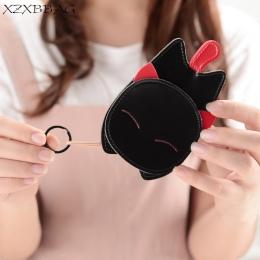 XZXBBAG Cute Cat Cartoon Key Portfele Kobiety Key Holder Organizator Torba Uczeń Kobiet Kluczyki Gospodyni Brelok Case XB117