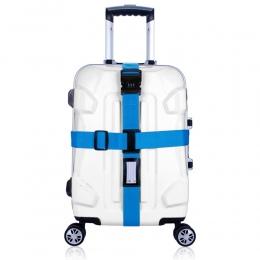 Blet Krzyżykiem Projektowania Zamek Walizka bagaż Pasy Pasy Klamry Pasa Bagażu Podróży Regulowany Pakowania