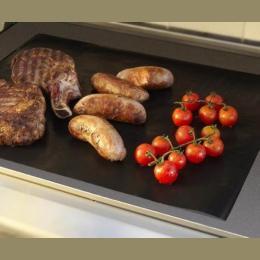 2 sztuk Teflonowe nieprzywierającą wielokrotnego użytku arkusza blachy do pieczenia mata Maty do grilla grill BBQ Grill gotowani