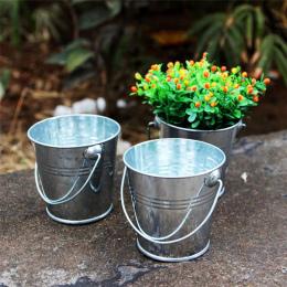 Nowy 1 pc Keg Mini Metal Żelaza Wiadro Cukierków Wiadra Beczki DIY Wedding Party Ulubiony Dekoracji Drop Shipping #1