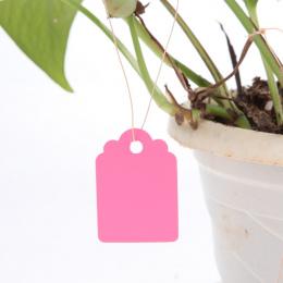 100 Sztuk Wodoodporna Plastikowe Przedszkole Ogród Roślin Kwiat Tag Etykiety Mark Ogród Acessories