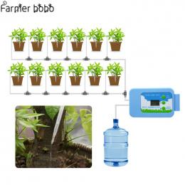 Kroplówki nawadniania LED Pompa Automatycznego nawadniania Zestaw Roślin Zegar Podlewania Wody Ogród Zegar Biuro W Domu wody do