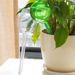 Praktyczne PCV Podróże Dom Roślin Własna Podlewanie Żarówki Kształt Waterer Globusy Automatyczne Nawadniania Patio Trawnik Ogród