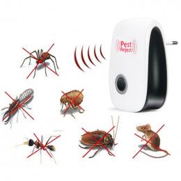 UE UK US PODŁĄCZ Elektroniczny Ultradźwiękowy Odstraszacz Szkodników Komara Rejector Mysz Szczur Mysz Odstraszacz Anti Mosquito