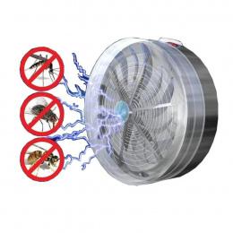Lato Solar Powered Mosquito Zabójca Lampy Buzz Lampy UV Światło Sypialnia Fly Insect Bug Mosquito Zabij Zapper Zabójca Kryty odk