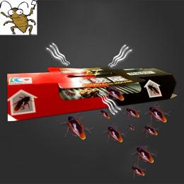 10 sztuk Karaluch Dom Karaluch Pułapki Odstraszający Zabijanie Przynęty Silne Lepkie Catcher Pułapki Owadów Szkodników Odstrasza