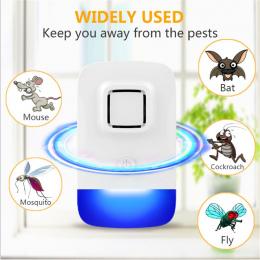 VICTMAX Nowy Elektryczny Ulatrosonic Mysz Odstraszacz Mosquito Bat Karaluch Fly Pułapka Odstraszający Owady nietoksyczny Cichy Z