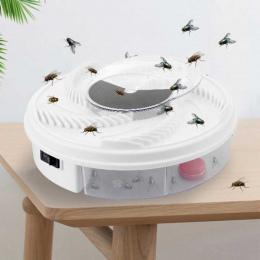 Elektryczne anti FlyTrap Szkodników Catcher Zabójca Odstraszacz Bug Owad Repelent Fly Pułapka Urządzenie Pest Control Drop Shipp