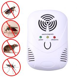 110-250 V/6 W Elektroniczny Ultradźwiękowy Mysz Karaluch Pułapki Mysz Zabójca Mosquito Odstraszacz Szczurów Insect Pająki Sterow