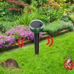 Ogród Yard Nowy Przydatne Solar Power Ekologiczne Ultradźwiękowy Gopher Mole Wąż Mysz Pest Odrzuć Odstraszacz Kontrola