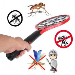 1 sztuk Elektryczny Swatter Komara Anty Komary Latać Odstraszający Bug Owad Odstraszacz Domu Ogród Handheld Szkodników Zgadzał R