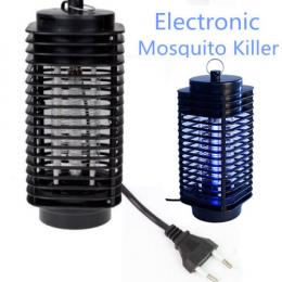 Elektryczne Mosquito Zabójca Pułapka Bug Moth Fly Lampa Led Light Night Light Black Zabijania owadów Zapper Anti Mosquito Szkodn