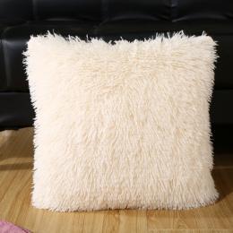 14 Kolory 18 ''Hot Sprzedaż Super Miękkie Pluszowe Futerko polar Rzut Poszewki Bawełniane Domu Pościel Plac poszewka na Poduszkę