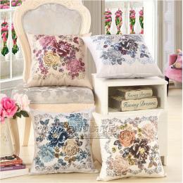 Klasyczne kwiatowe poszewki na poduszki, dekoracyjne poduszki/almofada okładka rzuć poszewki PC08