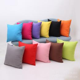 Hot Moda Krótki Style Poduszka Pokrywa 45*45 cm Jednolity Kolor Poliester Poszewka Poszewka na poduszkę Home Dekoracyjne