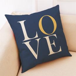 Gorąca sprzedaż Poduszki Obejmuje Placu Sypialnia Pościel Mieszanka Miłość Geometria Rzut Poszewka NOWY Domu Wysokiej jakości Po