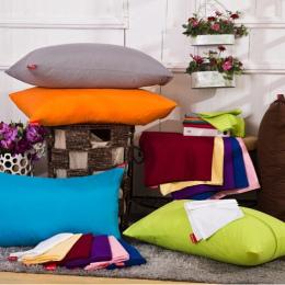 45*72 cm stałe poszewka na poduszkę, pokrywa poduszki, poduszki case, kolor opcjonalne