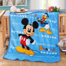 Disneyland Duffy Minnie Mickey Mouse Cartoon Koce Zgłasza Pościel 100*140 cm Rozmiar Dziecko Dzieci Łóżko Domu Sypialnia Dekorac