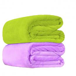 Tekstylia domowe Miękkie koc Poliester polar flanela koc dorosłych kratę sofa manta Zielony Niebieski flanela koce Rzut