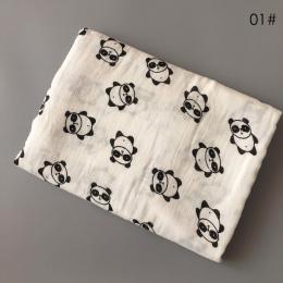 Nosii 120x120 cm Niemowlę Noworodek Miękkie Panda List Kaktus Fox Księżyc Mleka Żyrafa Spania Okład Kąpieli Do Przewijania ciepł