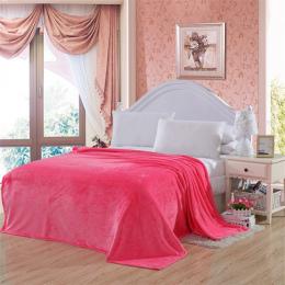 Nowy Koc Stałe Ciepłe i Super Miękkie Ciepłe Coral Fleece Blanket 150*200 200*230