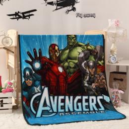 Małe Dzieci Marvel Avengers Polar Koc/Chłopcy Cartoon Spiderman Snu Kołdra/Dzieci Gospodarstwa Domowego Wygodne Koc Piknikowy