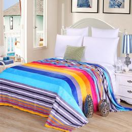 Gorąca sprzedaż 3 rozmiary Koral Polar koc na łóżku strona główna dorosłych Piękny kolor koc ciepła zima kanapa koc travel przen