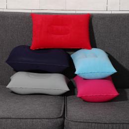 5 kolory Przenośny Mini Poduszka Podróżna Ultralight Powietrza Nadmuchiwane Poduszki Na Zewnątrz CampingTravel Miękkie Poduszki