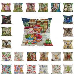 Cartoon anime Dekoracyjne Poduszki Poduszki Boże Narodzenie poduszki ślub materiały dekoracyjne cojines Santa Claus dekoracje