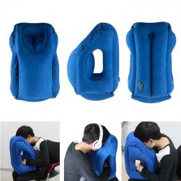 Poduszka podróżna Nadmuchiwane poduszki powietrza miękkie poduszki podróż przenośne innowacyjne produkty ciała powrót pomoc Skła