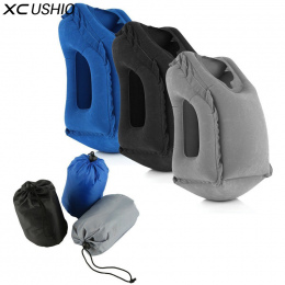 XC USHIO Nadmuchiwane Poduszki Podróży Powietrza Miękkie Poduszki Podróż Przenośne Innowacyjne Produkty Ciała Powrót Wsparcie Pr