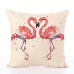 Flamingo Serii Poduszki bez wewnętrznego Kreskówki Śliczna Moda Jakości Europejski Styl Materiał Pościel Dekoracyjne fotel fotel