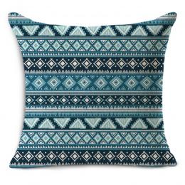 Nordic Rocznika geometryczne zewnątrz krzesło dekoracyjne rzut poduszki decor bawełniana pościel mieszane poduszki MYJ-1612 45x4