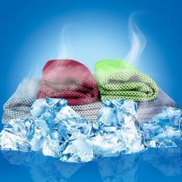 2018 Multicolor 90*30 cm Ręcznik Lodu Narzędzie Trwałe Natychmiastowa Ręcznik Chłodzenia Ulga Ciepła Wielokrotnego Użytku Chill