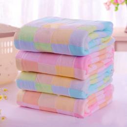 Gorąca sprzedaż 28*28 cm kwadratowych towel dzieci śliniaki ręczniki bawełna gaza kratę codziennego użytku rąk ręczniki do twarz