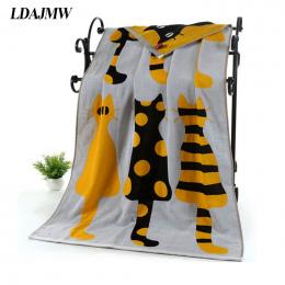 LDAJMW Gazy Bawełnianej Kreskówki Dla Dorosłych Ręcznik Kąpielowy Ręcznik Włókienniczych Duże Grube Ręcznik Hotelu Szlafrok Ręcz