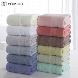 100% Bawełna Stałe Ręcznik kąpielowy Ręcznik Plażowy Dla Dorosłych Szybkoschnący Miękka 17 Kolory Grube Wysokiej Chłonne Antybak
