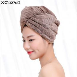 XC USHIO 1 sztuka Kobiet Dziewczyny lady Magia Szybkie Pranie Wanna Ręcznik Suszenia Włosów Szef Wrap Kapelusz Makijaż Kosmetyki